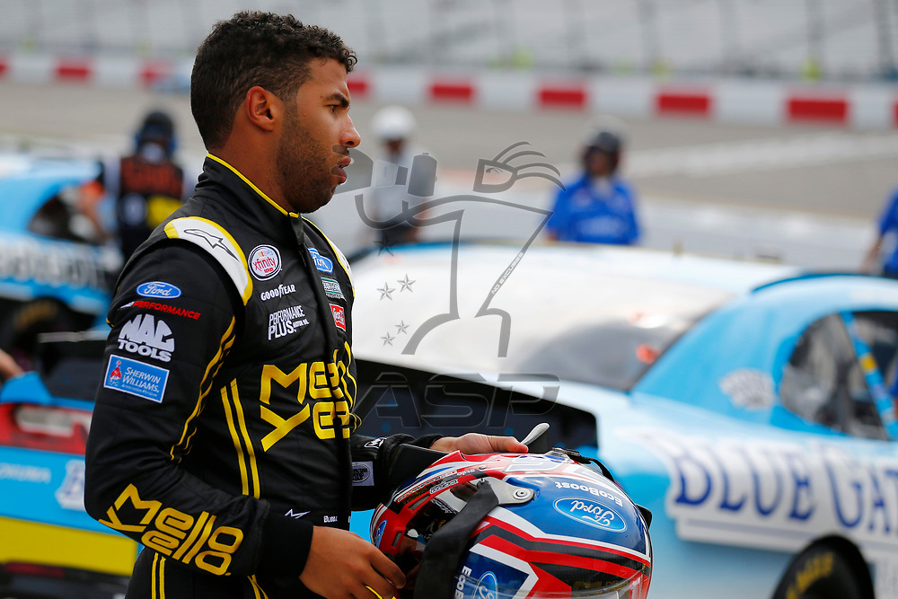 April 29, 2017 - Richmond, Virginia, USA: The NASCAR Xfinity Series teams take to the track to qualify for the ToyotaCare 250 at Richmond International Speedway in Richmond, Virginia.