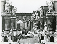 1916 Babylon set for the movie Intolerance at Fine Arts Studios
