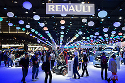 Renault stand at Paris Motor Show 2012