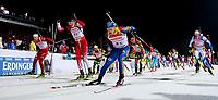 Skiskyting<br /> IBU World Cup<br /> Ruhpolding Tyskland<br /> 10.01.2013<br /> Foto: Gepa/Digitalsport<br /> NORWAY ONLY<br /> <br /> IBU Weltcup, 4x7,5 km Staffel der Herren, Siegerehrung.  Bild zeigt Lars Helge Birkeland (NOR), Simon Eder (AUT), Carl Johan Bergman (SWE) und Lowell Bailey (USA).