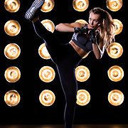 Samantha Kozuch poses for a fitness portrait on Thursday, Jan. 17, 2019 at FD Photo Studios in Los Angeles.