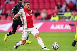 Dusan Tadic of Ajax in action during eredivisie round 02 between Ajax and RKC at Johan Cruyff Arena on September 20, 2020 in Amsterdam, Netherlands