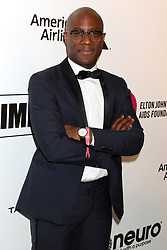 February 24, 2019 - West Hollywood, CA, USA - LOS ANGELES - FEB 24:  Barry Jenkins at the Elton John Oscar Viewing Party on the West Hollywood Park on February 24, 2019 in West Hollywood, CA (Credit Image: © Kay Blake/ZUMA Wire)