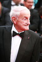 Claude Lorius at the Closing ceremony and premiere of La Glace Et Le Ciel at the 68th Cannes Film Festival, Sunday 24th May 2015, Cannes, France.