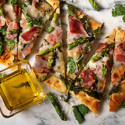 Flatbread with Arugula, Asparagus and Ham. Nathan Lambrecht/Journal Communications