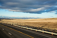 Highway 197 in eastern Oregon.
