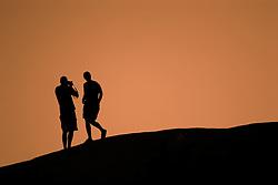 Sunset at Joshua Tree State Park