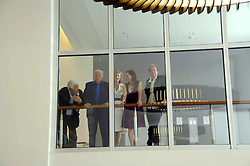 Left to right, ANTONIO CARLUCCIO, SIR TERENCE & LADY CONRAN, VICKY MIDDLETON and NED CONRAN at a dinner hosted by Vogue in honour of Antony Gormley held at the new Skylon restaurant at the refurbished Royal Festival Hall, South Bank, London on 22nd May 2007.<br /><br />NON EXCLUSIVE - WORLD RIGHTS