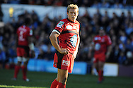 Toulon's Jonny Wilkinson looks on.Heineken cup, pool 6 match, Cardiff Blues v Toulon at Cardiff Arms Park in Cardiff, South Wales on Sunday 21st October 2012. pic by Andrew Orchard, Andrew Orchard sports photography,