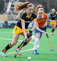 BLOEMENDAAL - hockey - Competitie Landelijk meisjes : Bloemendaal MB1-Den Bosch MB1 (1-1). Anne Boer van Den Bosch. COPYRIGHT KOEN SUYK