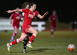 Chloe Arthur of Bristol City Women - Mandatory by-line: Paul Knight/JMP - Mobile: 07966 386802 - 23/02/2016 -  FOOTBALL - Stoke Gifford Stadium - Bristol, England -  Bristol City Women v Notts County Ladies - Pre-season friendly