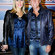 NLD/Utrecht/20121018- Premiere Speed, Micheal Boogerd en zwangere partner Darya Nucci