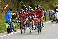 Dennis Rohan - Bmc - 28.04.2015 - Tour de Romandie - Etape 01 : Vallee de Joux / Juraparc - CLM Par Equipes<br />Photo : Sirotti / Icon Sport *** Local Caption ***