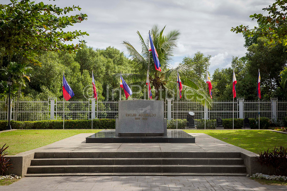 The Aguinaldo Shrine in Kawit, Cavite, The Philippines. It commemorates Emilio Aguinaldo, the first president of the Philippines, and its independence from Spain which was declared on June 12, 1898.