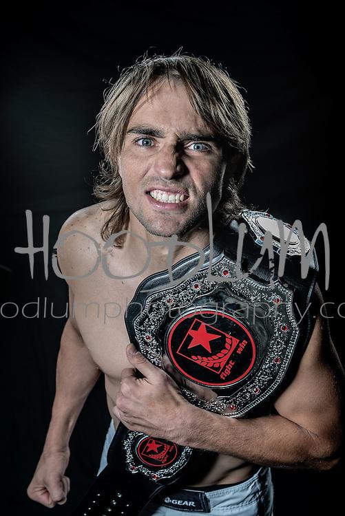 Portrait of MMA Cage Fighter Matt Johnson from Team Wildman