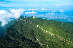 August 1, 2018 - Huaying, Huaying, China - Huaying, CHINA-Scenery of Huaying Mountain in Guang'an, southwest China's Sichuan Province. (Credit Image: © SIPA Asia via ZUMA Wire)