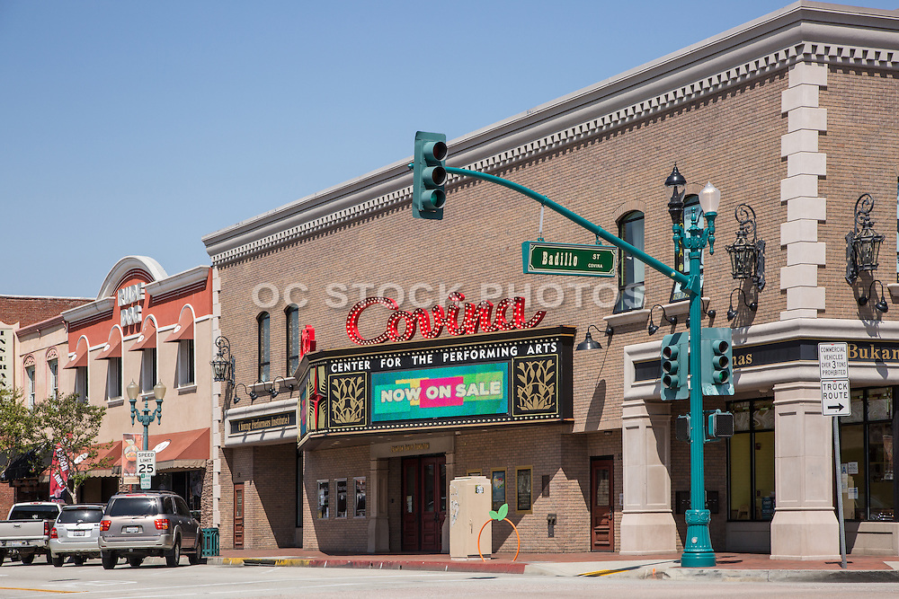 Historic Covina Center for the Performing Arts Building in Covina