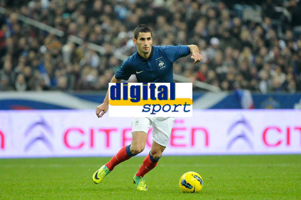 FOOTBALL - FRIENDLY GAME 2011 - FRANCE v BELGIUM - 15/11/2011 - PHOTO JEAN MARIE HERVIO / DPPI - MAXIME GONALONS (FRA)