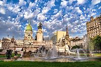 Buenos Aires - La Plaza dos Congresos