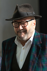London, November 05 2017. Leader of the Respect Party George Galloway is spotted outside the BBC's New Broadcasting House in London.. © Paul Davey
