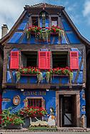 Along the Route des Vins (Wine Route) in Alsace, France.