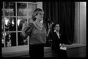 RACHEL KELLY; ANTHONY SELDON; , Party to celbrate the publication of ' Walking on Sunshine' 52 Small steps to Happiness' by Rachel Kelly. RSA. London. 9 November 2015