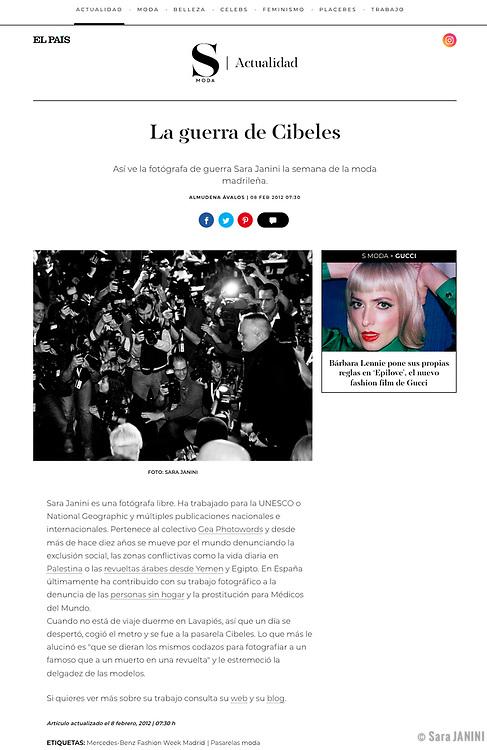 Almudena Ávalos SMODA-EL PAIS