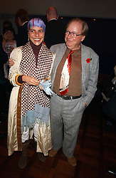 LORD & LADY McALPINE at a party to celebrate the publication of 'E is for Eating' by Tom Parker Bowles held at Kensington Place, 201 Kensington Church Street, London W8 on 3rd November 2004.<br /><br />NON EXCLUSIVE - WORLD RIGHTS