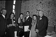 """Louis Marcus attends the world premier of the film """"Christy Ring""""..19.10.1964"""