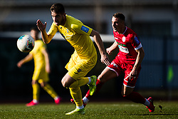 Damjan Vuklisevic of NK Domzale during the football match between NK Domzale and NK Aluminij in 25. Round of Prva liga Telekom Slovenije 2019/20, on March 7, 2020 in Sportni park Domzale, Slovenia. Photo by Grega Valancic / Sportida