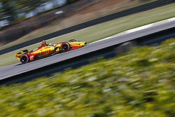 April 20, 2018 - Birmingham, Alabama, United States of America - April 20, 2018 - Birmingham, Alabama, USA: RYAN HUNTER-REAY (28) of the United States takes to the track to practice for the Honda Grand Prix of Alabama at Barber Motorsports Park in Birmingham, Alabama. (Credit Image: © Justin R. Noe Asp Inc/ASP via ZUMA Wire)