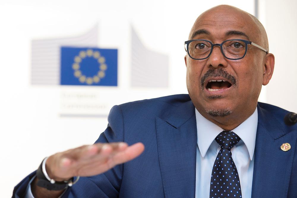 03 June 2015 - Belgium - Brussels - European Development Days - EDD - Health - 90-90-90 - An ambitious treatment target to help end the AIDS epidemic - Michel Sidibe , Executive Director © European Union