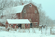 Barn in the Snow, Mongomery, NY