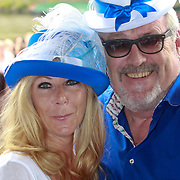 NLD/Amsterdam/20110806 - Canalpride Gaypride 2011, Ernst Daniel Smid en partner Rosemarie Giessen - van der Sluis