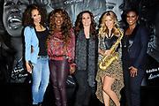 CD en DVD presentatie Ladies of Soul in Club Ziggo Dome, Amsterdam.<br /> <br /> Op de foto:   Glennis Grace, Berget Lewis, Trijntje Oosterhuis, Candy Dulfer en Edsilia Rombley