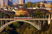 Kornhausbrucke (bridge), Bern, Canton Bern, Switzerland