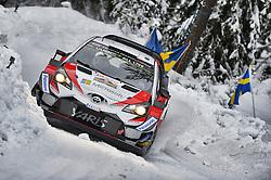 February 15, 2018 - Suede - Jari-Matti Latvala (FIN) – Miikka Anttila (FIN) - Toyota Yaris WRC (Credit Image: © Panoramic via ZUMA Press)
