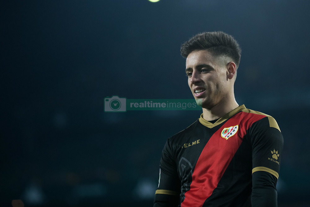 December 9, 2018 - Seville, Andalucía, Spain - Embarba, Rayo, during the LaLiga match between Real Betis and Rayo in Benito Villamarín Stadium (Seville) (Credit Image: © Javier MontañO/Pacific Press via ZUMA Wire)