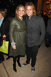HOLLY BRANSON and SAM BRANSON at the gala night of Varekai by Cirque du Soleil at The Royal Albert Hall, London on 8th January 2008.<br /><br />NON EXCLUSIVE - WORLD RIGHTS