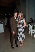 JOHNNY BORRELL; EDIE CAMPBELL, Alexandra Shulman, Editor of Vogue & Phil Popham, Managing Director of Land Rover<br /> host the 40th Anniversary of Range Rover. The Orangery at Kensington Palace. London. 1 July 2010. -DO NOT ARCHIVE-© Copyright Photograph by Dafydd Jones. 248 Clapham Rd. London SW9 0PZ. Tel 0207 820 0771. www.dafjones.com.