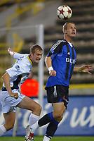Fotball<br /> Belgia 2004/2005<br /> Foto: PhotoNews/Digitalsport<br /> NORWAY ONLY<br /> <br /> 05.11.2004<br /> <br /> CLUB BRUGGE- WESTERLO <br /> <br /> ROZEHNAL - KNUT HARALDSEN
