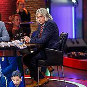 NLD/Hilversum/20171215 - Dick Advocaat te gast bij Voetbal Inside, Johan Derksen