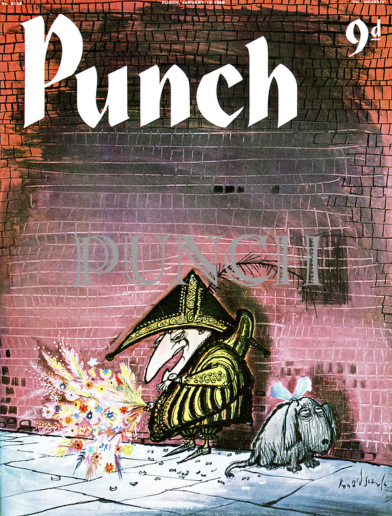 Punch cover 15 January 1958