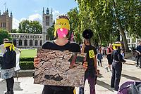 Extiction Rebellion parliament square London photo by Mark Anton Smith