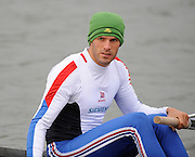 Caversham, Great Britain,  Toby GARBUTT, GB Rowing media day at the Redgrave Pinsent Rowing Lake. GB Rowing Training centre. Wed. 20.04.2008  [Mandatory Credit. Peter Spurrier/Intersport Images] Rowing course: GB Rowing Training Complex, Redgrave Pinsent Lake, Caversham, Reading