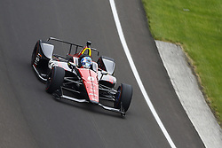 May 18, 2018 - Indianapolis, Indiana, United States of America - ROBERT WICKENS (6) of Canada brings his car through turn one during ''Fast Friday'' practice for the Indianapolis 500 at the Indianapolis Motor Speedway in Indianapolis, Indiana. (Credit Image: © Chris Owens Asp Inc/ASP via ZUMA Wire)