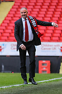 Charlton Athletic owner, Thomas Sandgaard prior to the EFL Sky Bet League 1 match between Charlton Athletic and AFC Wimbledon at The Valley, London, England on 12 December 2020.