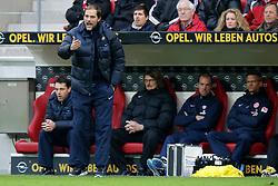 02.02.2013, Coface Arena, Mainz, GER, 1. FBL, 1. FSV Mainz 05 vs FC Bayern Muenchen, 20. Runde, im Bild Thomas TUCHEL (Trainer FSV Mainz 05) unzufrieden // during the German Bundesliga 20th round match between 1. FSV Mainz 05 and FC Bayern Munich at the Coface Arena, Mainz, Germany on 2013/02/02. EXPA Pictures © 2013, PhotoCredit: EXPA/ Eibner/ Gerry Schmit..***** ATTENTION - OUT OF GER *****