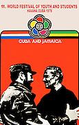 Jamaica/Cuba Youth Festival Poster