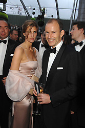 The PRINCE & PRINCESS OF PRESLAV at the Ark 2007 charity gala at Marlborough House, Pall Mall, London SW1 on 11th May 2007.<br />